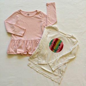 Baby Gap shirts set of 2
